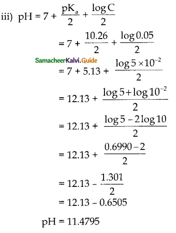 Samacheer Kalvi 12th Chemistry Guide Chapter 8 Ionic Equilibrium 44