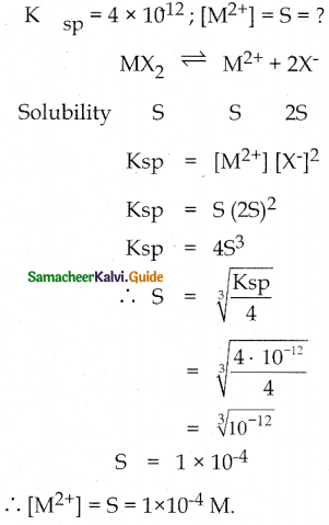 Samacheer Kalvi 12th Chemistry Guide Chapter 8 Ionic Equilibrium 76