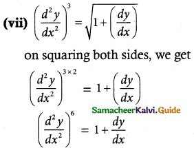 Samacheer Kalvi 12th Maths Guide Chapter 10 Ordinary Differential Equations Ex 10.1 4