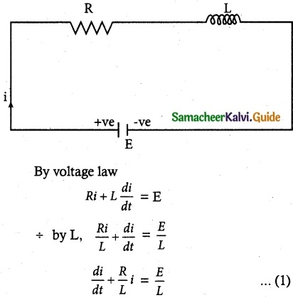 Samacheer Kalvi 12th Maths Guide Chapter 10 Ordinary Differential Equations Ex 10.8 1