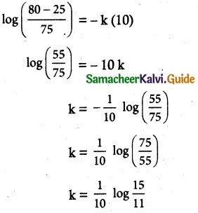 Samacheer Kalvi 12th Maths Guide Chapter 10 Ordinary Differential Equations Ex 10.8 5