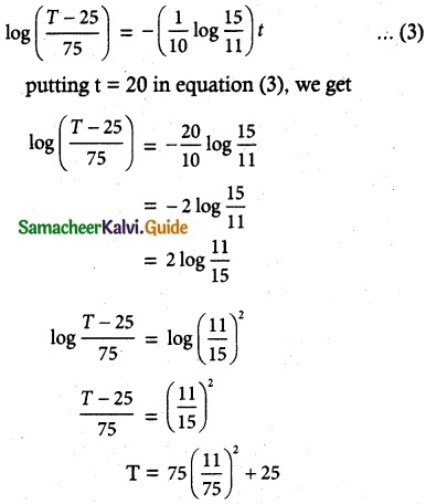 Samacheer Kalvi 12th Maths Guide Chapter 10 Ordinary Differential Equations Ex 10.8 6