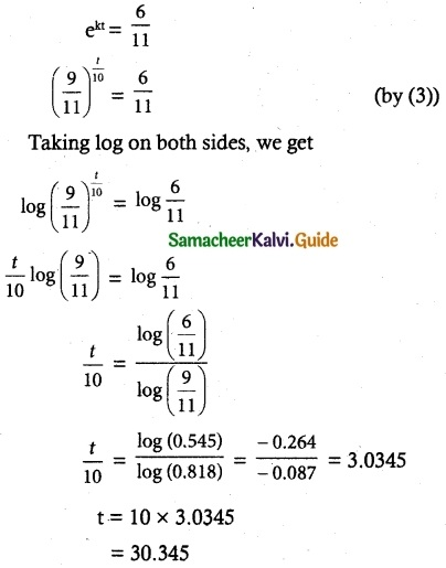 Samacheer Kalvi 12th Maths Guide Chapter 10 Ordinary Differential Equations Ex 10.8 9