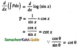 Samacheer Kalvi 12th Maths Guide Chapter 10 Ordinary Differential Equations Ex 10.9 10