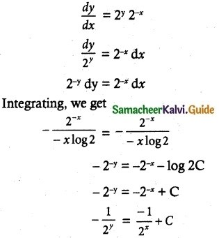Samacheer Kalvi 12th Maths Guide Chapter 10 Ordinary Differential Equations Ex 10.9 8