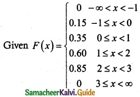 Samacheer Kalvi 12th Maths Guide Chapter 11 Probability Distributions Ex 11.2 18