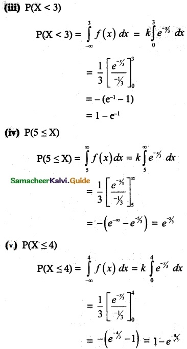 Samacheer Kalvi 12th Maths Guide Chapter 11 Probability Distributions Ex 11.3 13