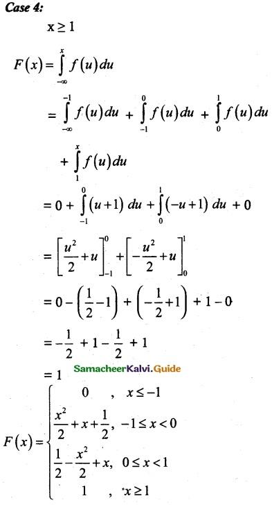 Samacheer Kalvi 12th Maths Guide Chapter 11 Probability Distributions Ex 11.3 17