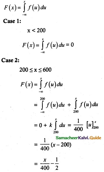 Samacheer Kalvi 12th Maths Guide Chapter 11 Probability Distributions Ex 11.3 8