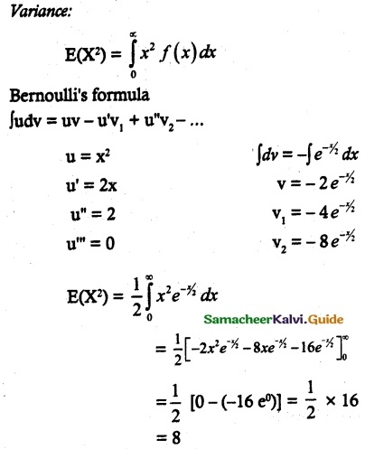 Samacheer Kalvi 12th Maths Guide Chapter 11 Probability Distributions Ex 11.4 8