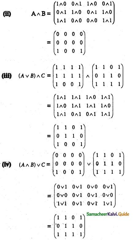 Samacheer Kalvi 12th Maths Guide Chapter 12 Discrete Mathematics Ex 12.1 9