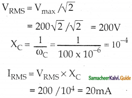 Samacheer Kalvi 12th Physics Guide Chapter 4 Electromagnetic Induction and Alternating Current 64