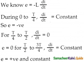 Samacheer Kalvi 12th Physics Guide Chapter 4 Electromagnetic Induction and Alternating Current 8