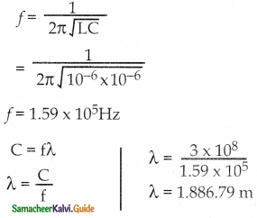 Samacheer Kalvi 12th Physics Guide Chapter 4 Electromagnetic Induction and Alternating Current 82