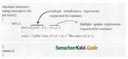 Samacheer Kalvi 11th Computer Science Guide Chapter 10 Flow of Control 24