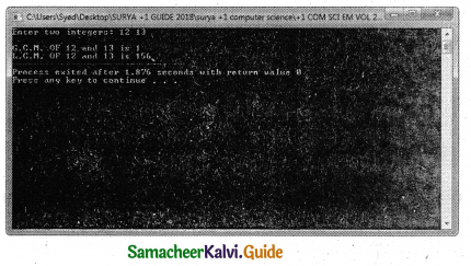 Samacheer Kalvi 11th Computer Science Guide Chapter 10 Flow of Control 7