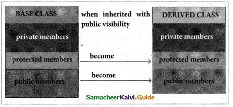 Samacheer Kalvi 11th Computer Science Guide Chapter 16 Inheritance 10