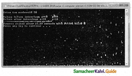 Samacheer Kalvi 11th Computer Science Guide Chapter 9 Introduction to C++ 23