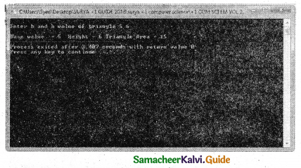 Samacheer Kalvi 11th Computer Science Guide Chapter 9 Introduction to C++ 26