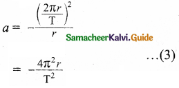 Samacheer Kalvi 11th Physics Guide Chapter 6 Gravitation 13