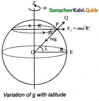 Samacheer Kalvi 11th Physics Guide Chapter 6 Gravitation 21