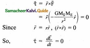 Samacheer Kalvi 11th Physics Guide Chapter 6 Gravitation 6