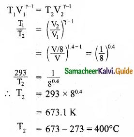 Samacheer Kalvi 11th Physics Guide Chapter 8 Heat and Thermodynamics 59