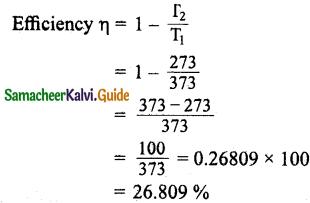 Samacheer Kalvi 11th Physics Guide Chapter 8 Heat and Thermodynamics 6
