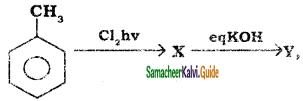 Samacheer Kalvi 11th Chemistry Guide Chapter 14 Haloalkanes and Haloarenes 80