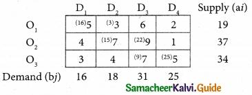 Samacheer Kalvi 12th Business Maths Guide Chapter 10 Operations Research Ex 10.1 9