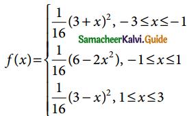 Samacheer Kalvi 12th Business Maths Guide Chapter 6 Random Variable and Mathematical Expectation Ex 6.1 10