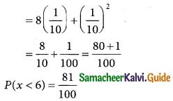 Samacheer Kalvi 12th Business Maths Guide Chapter 6 Random Variable and Mathematical Expectation Ex 6.1 8