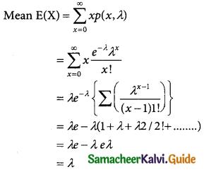 Samacheer Kalvi 12th Business Maths Guide Chapter 7 Probability Distributions Ex 7.2 2