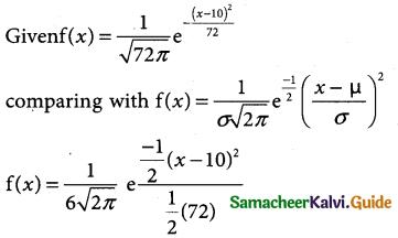 Samacheer Kalvi 12th Business Maths Guide Chapter 7 Probability Distributions Ex 7.4 2