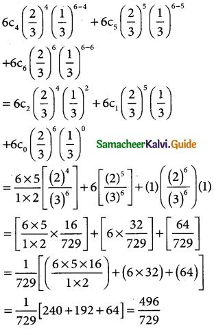Samacheer Kalvi 12th Business Maths Guide Chapter 7 Probability Distributions Ex 7.4 4