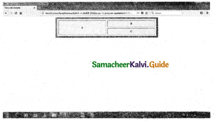 Samacheer Kalvi 11th Computer Applications Guide Chapter 11 HTML – Formatting Text, Creating Tables, List and Links 10