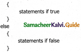 Samacheer Kalvi 11th Computer Applications Guide Chapter 15 Control Structure in JavaScript 4