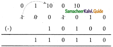 Samacheer Kalvi 11th Computer Applications Guide Chapter 2 Number Systems 38