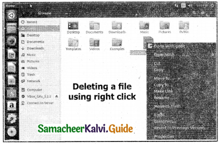 Samacheer Kalvi 11th Computer Applications Guide Chapter 5 Working with Typical Operating System (Windows & Linux) 12