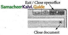 Samacheer Kalvi 11th Computer Applications Guide Chapter 6 Word Processor Basics (OpenOffice Writer) 11