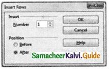 Samacheer Kalvi 11th Computer Applications Guide Chapter 6 Word Processor Basics (OpenOffice Writer) 20