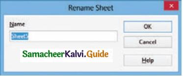 Samacheer Kalvi 11th Computer Applications Guide Chapter 7 Spreadsheets Basics (OpenOffice Calc) 10