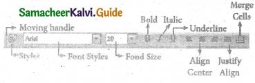 Samacheer Kalvi 11th Computer Applications Guide Chapter 7 Spreadsheets Basics (OpenOffice Calc) 21