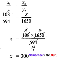 Samacheer Kalvi 7th Maths Solutions Term 1 Chapter 4 Direct and Inverse Proportion Ex 4.3 24