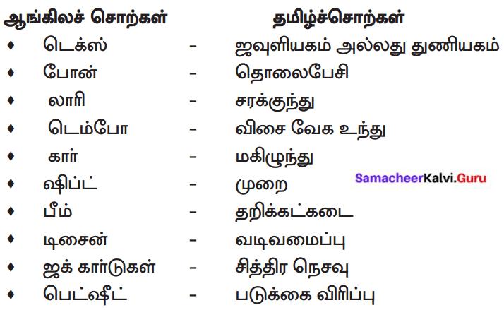 Samacheer Kalvi 8th Tamil Solutions Chapter 6.4 காலம் உடன் வரும் 3