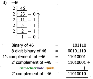 Samacheer Kalvi 11th Computer Science Guide Chapter 2 Number Systems 59