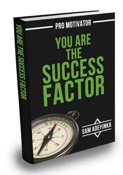 You are the Success Factor by Sam Adeyinka
