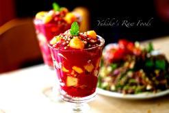 raw fruit parfait