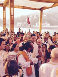 yoga festival in rishikesh with mooji