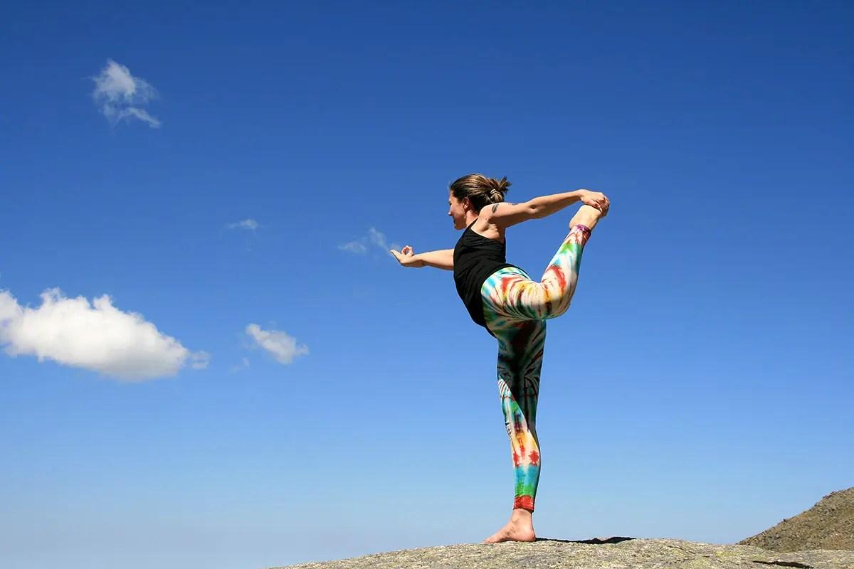 Natarájásana yoga